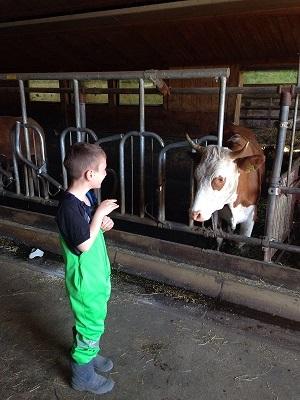 Jugend auf dem Bauernhof