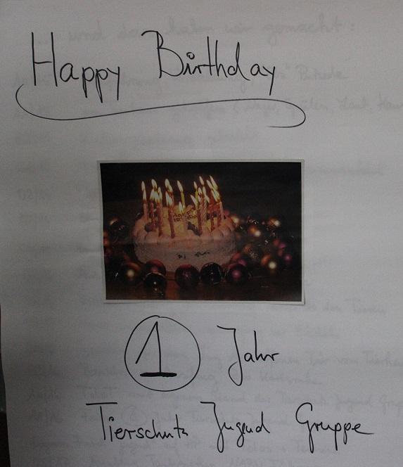 Happy Birthday Jugendgruppe!