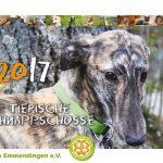 Kalender Tierheim Emmendingen 2017 Titelseite