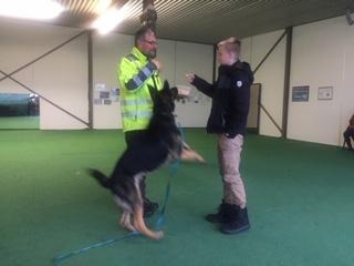 Jugendgruppe besucht Hundeschule KERN